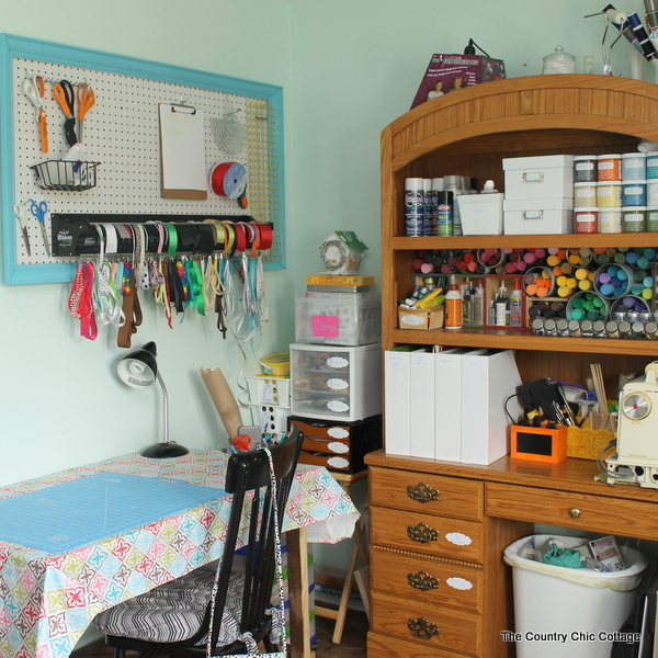 Organized Craft Room Tour A Of Fabulous With Tons