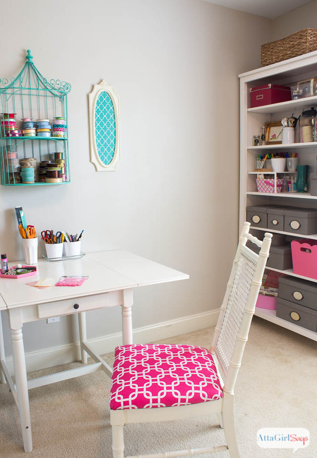 pink-green-teal-craft-room-makeover-2