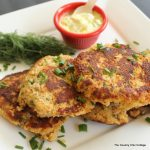 Salmon Cakes with Dill -- put an amazing spin on plain salmon cakes with this great recipe.