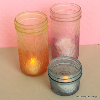Two Toned Dyed Jars