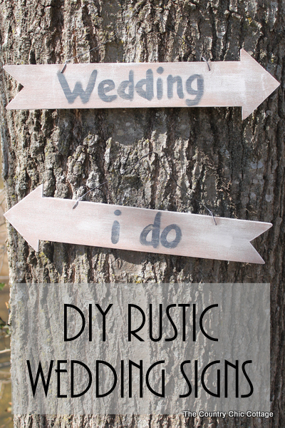 Diy Rustic Wedding Signs 037