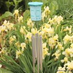 Make this: Hexagon Wind Chimes -- a super simple way to make your own wind chimes this summer.