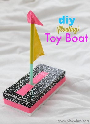 May1 Diy Floating Toy Boat Summer Fun Quick Craft