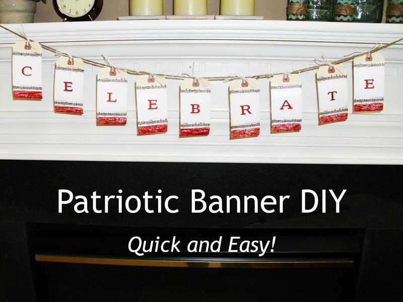 may2 Patriotic Banner DIY