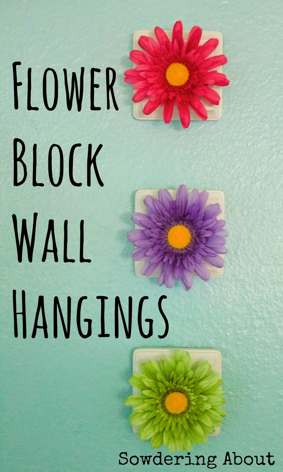may2 flower wall hangings
