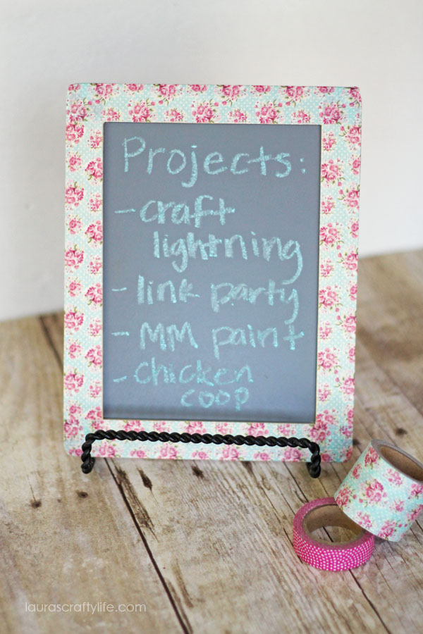 may3 Washi-Tape-Chalk-Board-at-Lauras-Crafty-Life