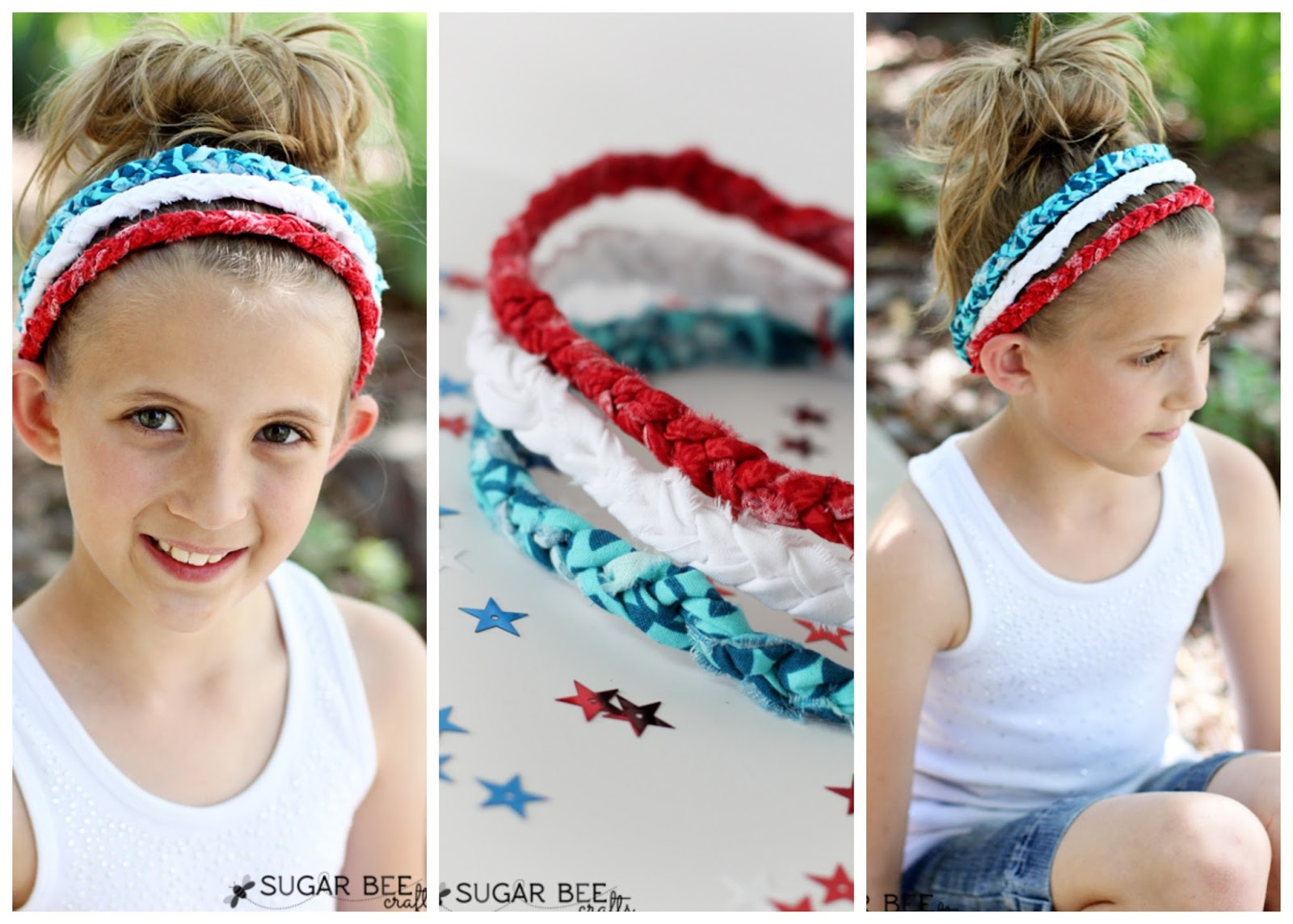 may4 how to make a patriotic braided headband