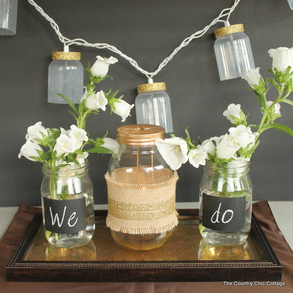 Rustic Glam Wedding Decor 012
