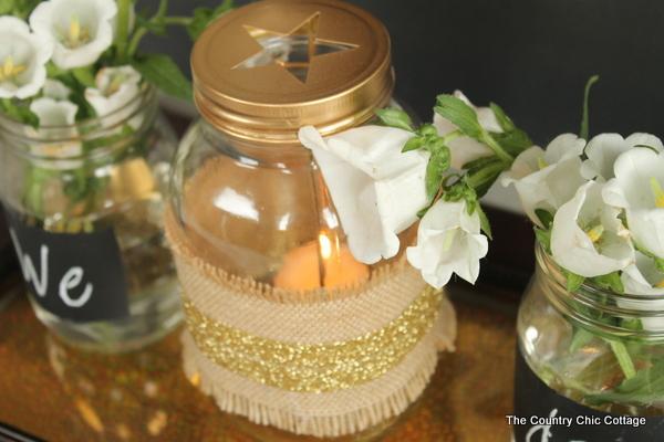 Mason Jar Wedding Centerpieces 78 Amazing rustic glam wedding decor