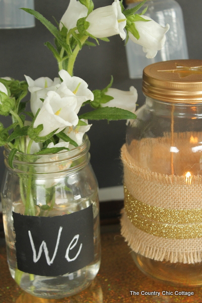 Rustic Glam Wedding Decor 014