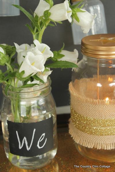Mason Jar Wedding Centerpieces 81 New rustic glam wedding decor