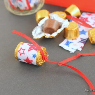 Rolo Firecracker Party Favors -- perfect idea to give as favors at your Fourth of July party.