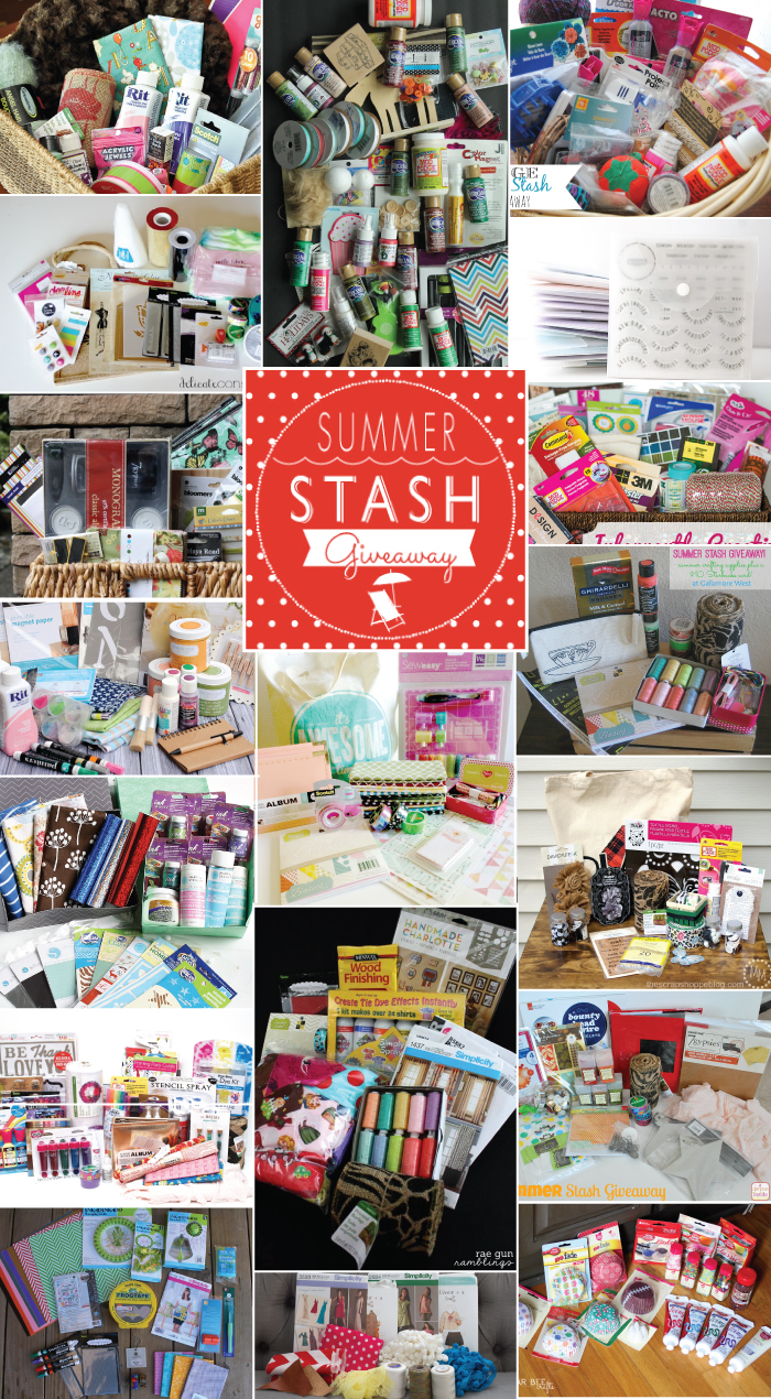 Summer Stash Giveaway -- enter to win some amazing craft supply packages!