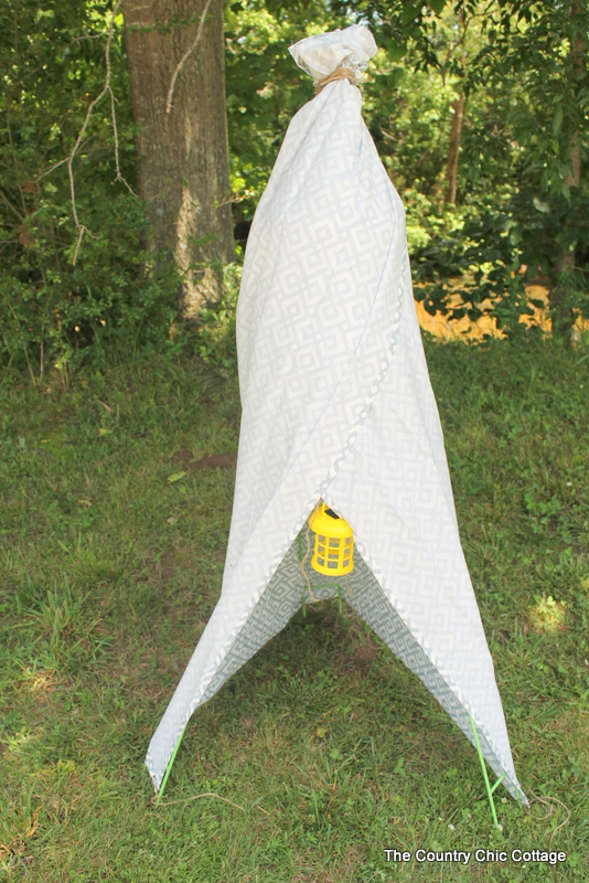 backyard teepee from dollargeneral the country chic cottage