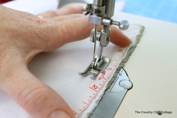 How to Sew Curtains -- a tutorial for sewing long straight line drapes for your home.