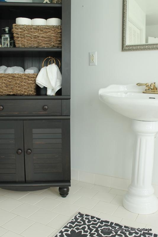 Image Result For Corner Bathroom Cabinet