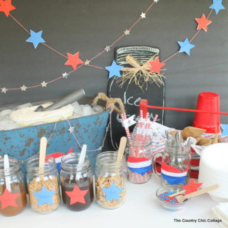 Patriotic Sundae Party