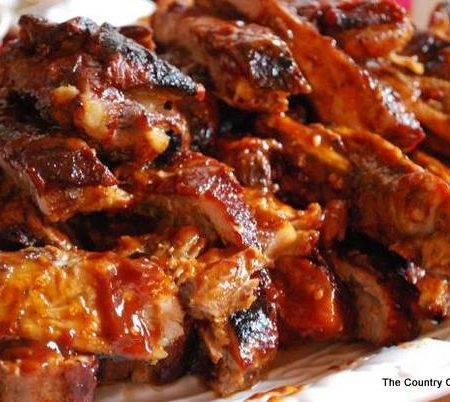 Slow Cooker Barbecue Ribs -- make delicious ribs in your crock pot with this method.