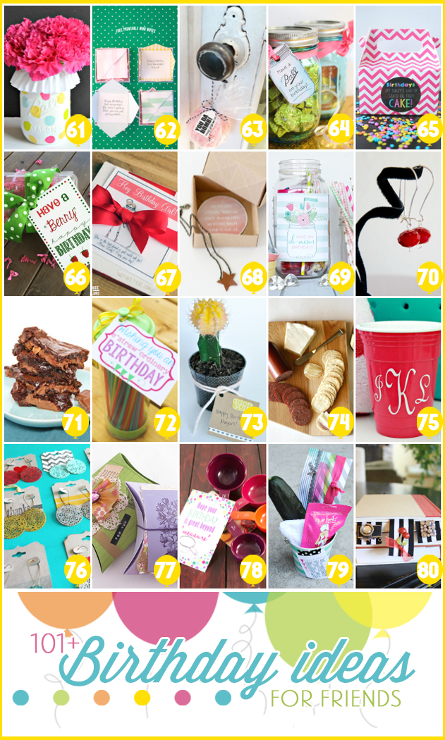 Over 101 birthday gift ideas under $5 -- get creative with these fun gifts!