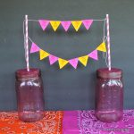 Mason Jar Party Crafts -- fun crafts for parties using mason jars.