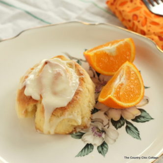 Orange Breakfast Rolls Recipe