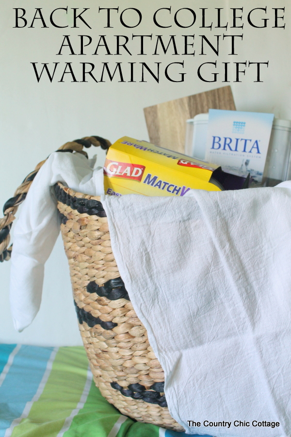 Back to College Gift -- check out this great apartment warming gift for a college aged student.  Includes products from Brita®.  #ad