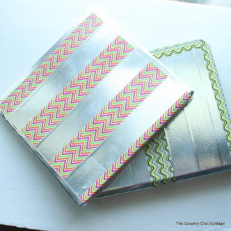 Customize your back to school binder with Duck Tape and this great video tutorial.