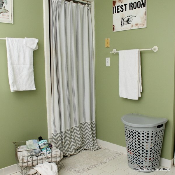 How To Make An Extra Long Shower Curtain Add Length Your
