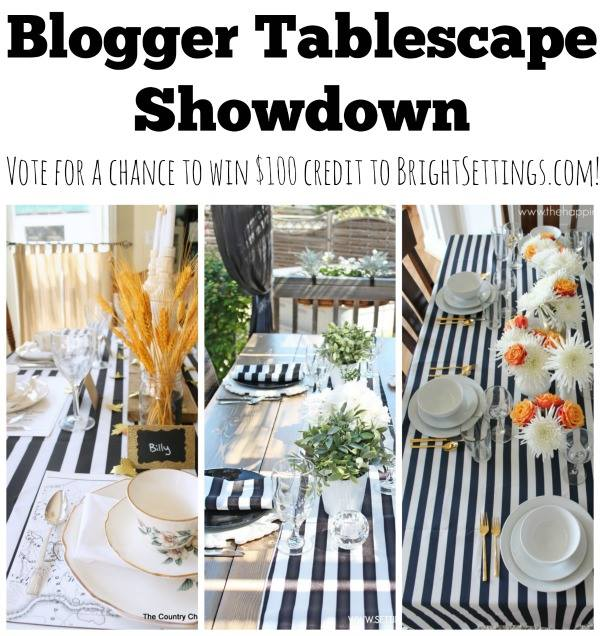 tablescapeshowdown