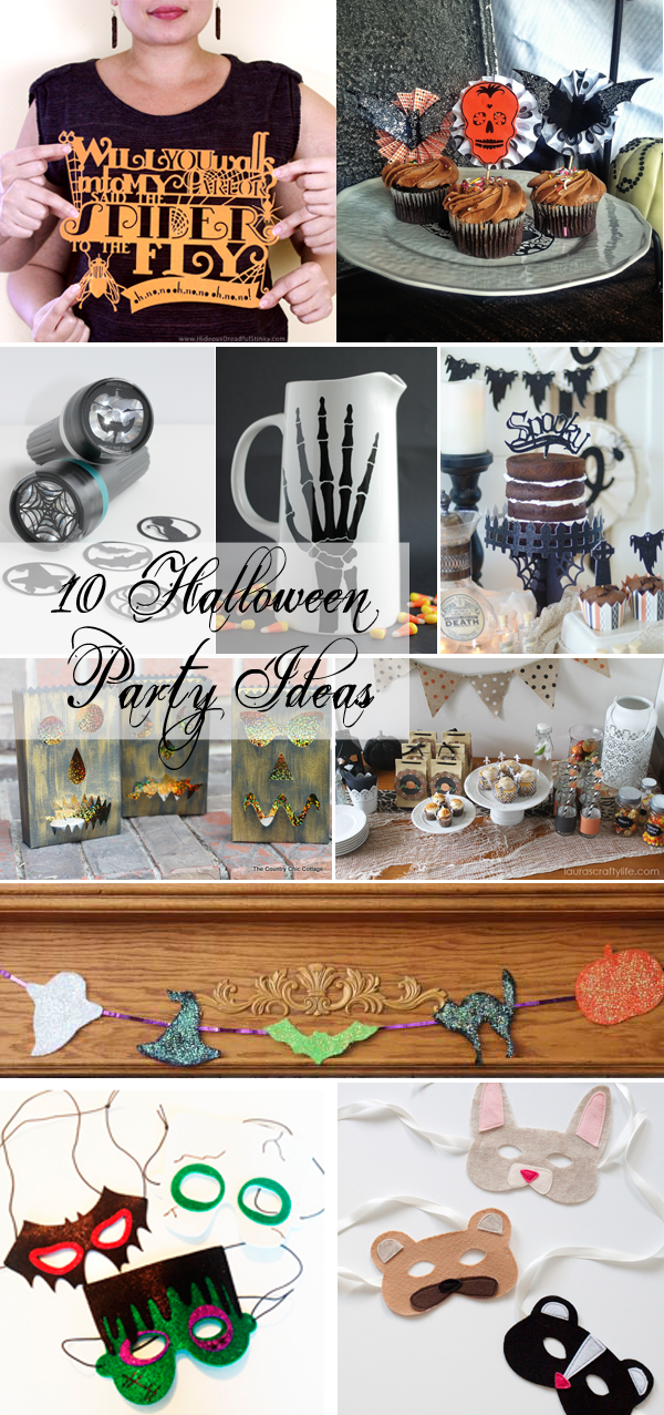 10 Halloween Party Ideas for your Halloween celebrations!