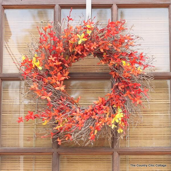 Amazing fall wreath plus tons more ideas!