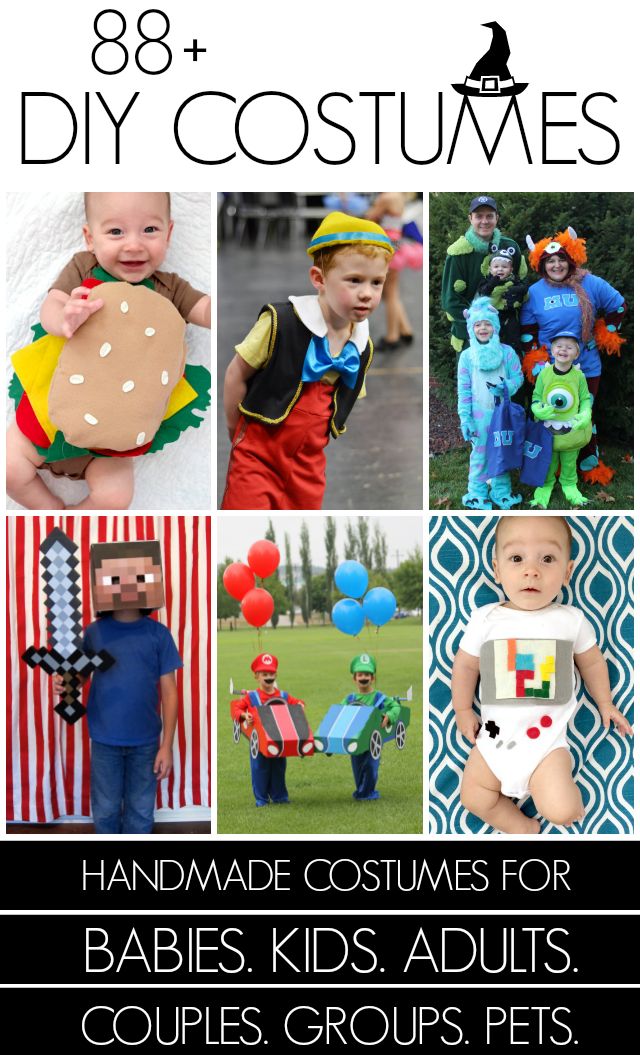 Over 80 handmade costume ideas in one place!