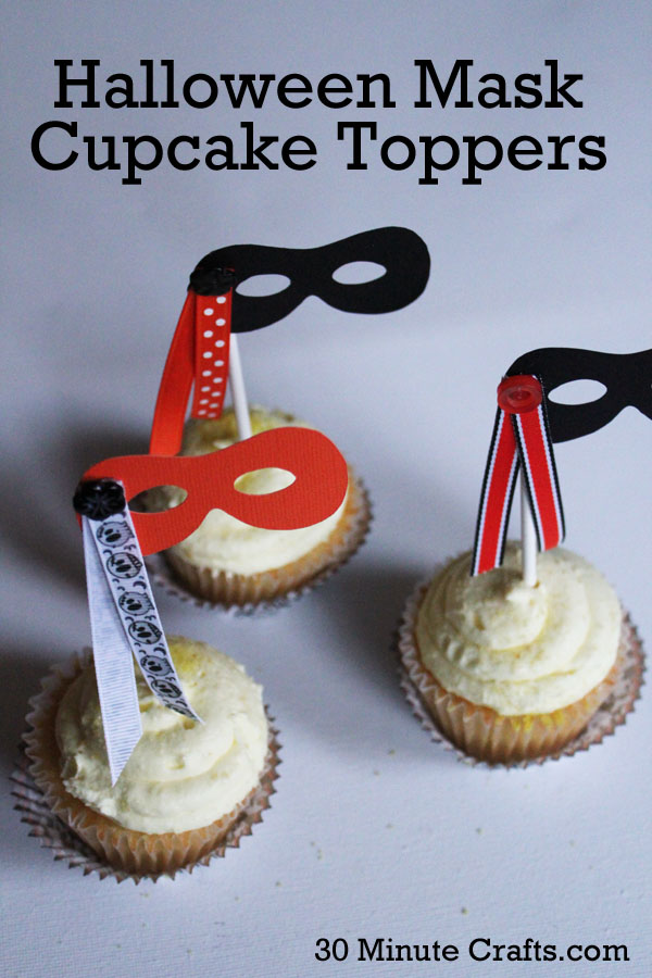 Halloween-Mask-Cupcake-Toppers