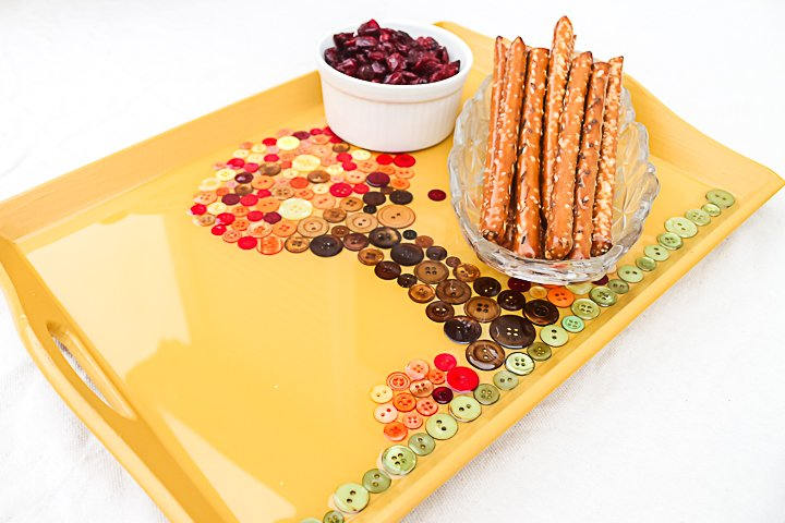 thanksgiving serving tray