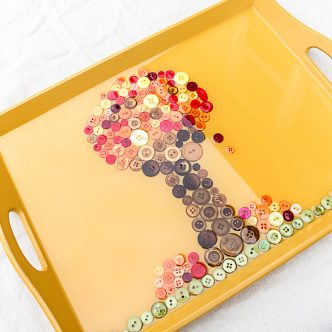 how to make a fall tray