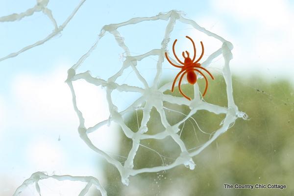 glow in the dark spider web window clings-001
