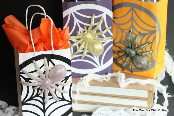 goodie bags for a halloween party