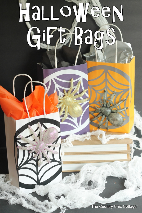 Halloween party bag ideas