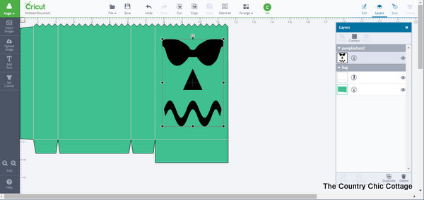 cricut halloween pattern