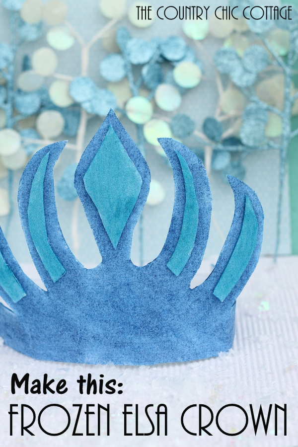 How to Make an Elsa Crown from the Movie Frozen -- make this in just minutes!