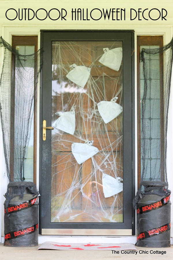 Outdoor Halloween Decor Get Ideas For Decorating Your Porch For Halloween Including A Bloody