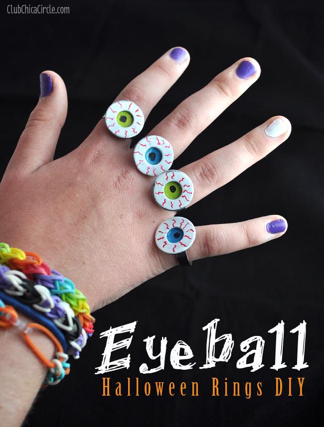 eyeball rings party favors