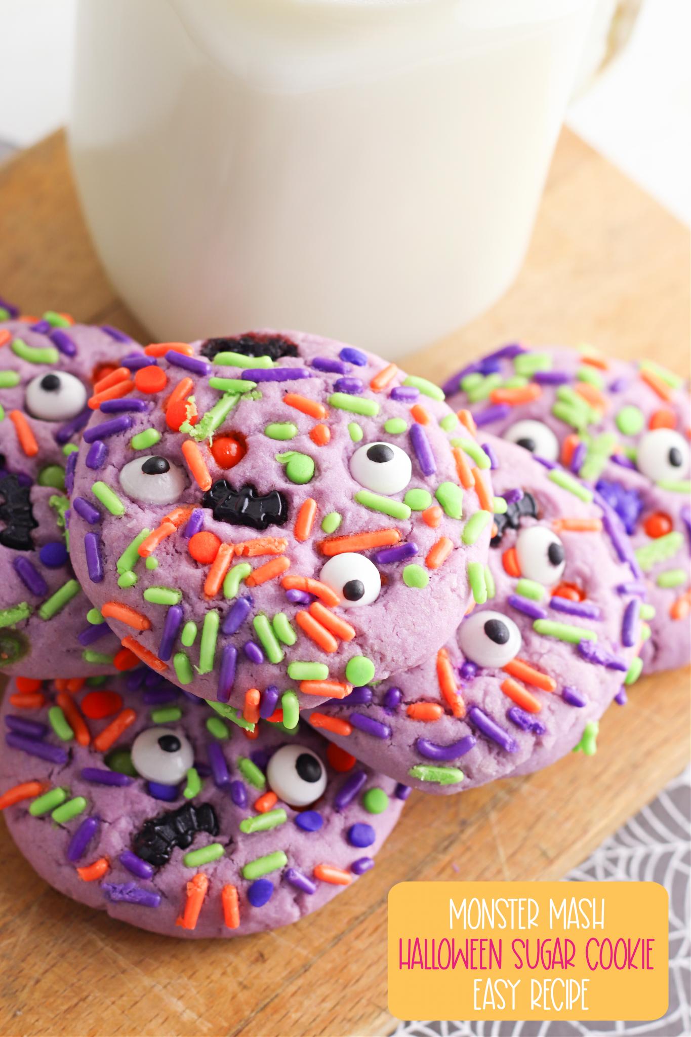 eyeball halloween cookies
