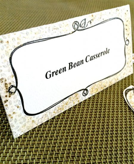 Make a personalized place card