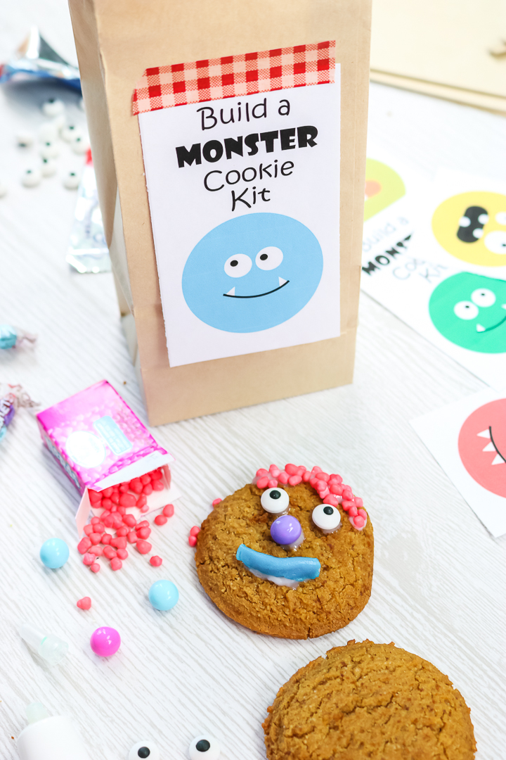 fun monster cookie kit for halloween