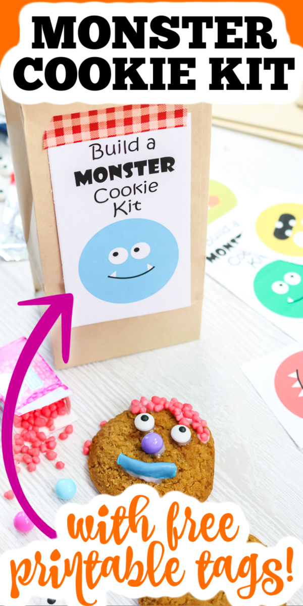 Don't miss this monster cookie kit and the other Halloween printables in this post! You are going to love all of these freebies for fall! #halloween #monsters #cookiekit #printable #freeprintable