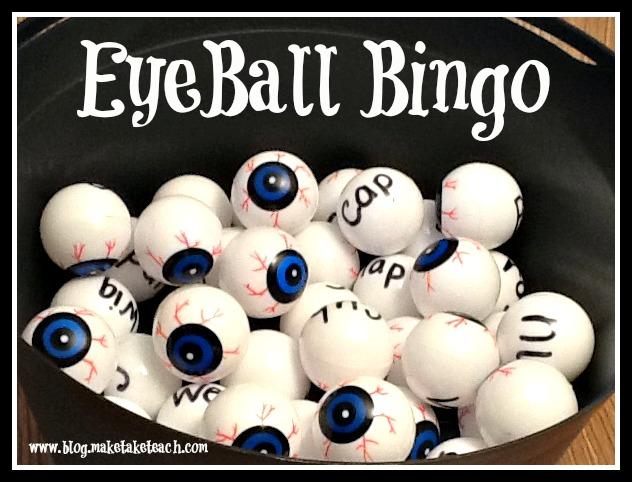 eyeball bingo