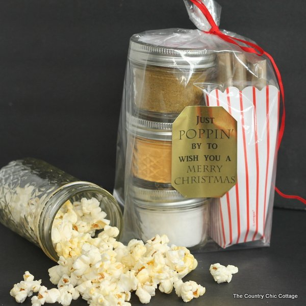 gourmet popcorn gift add your seasoning mixes to mason jars for a great handmade