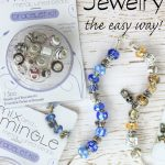 Make your own jewelry in 3 minutes or less! These are perfect to make and give for Christmas gifts!
