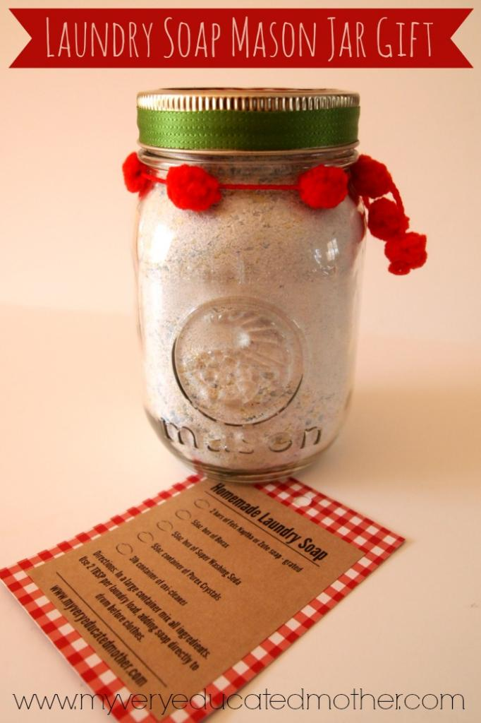 Mason Jar Gifts -- over 25 great ideas for gifts in jars! Get tons of inspiration and give handmade this holiday season!